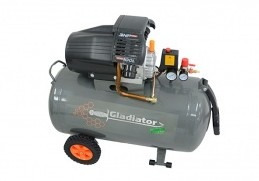 compresor 3hp 2200w 100lts 8bar gladiator ce710/220/50