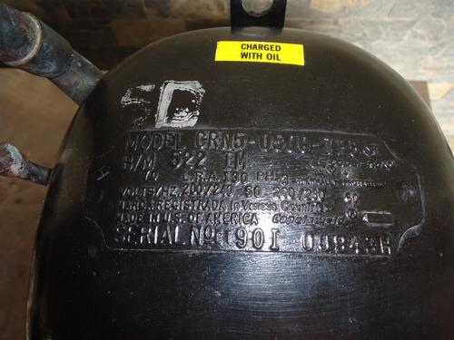 compresor 5 toneladas copeland trifasico r-22
