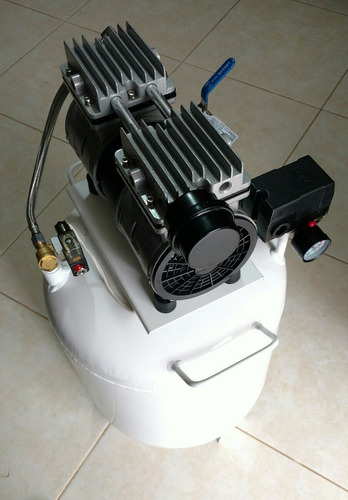compresor 55 lt, libre de aceite, 1hp