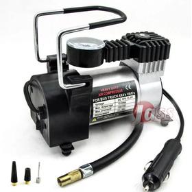 Compresor Aire 12v Metal Auto Inflador Neumatico Portatil