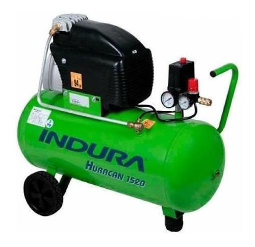 compresor aire 2 hp huracán 1520. indura