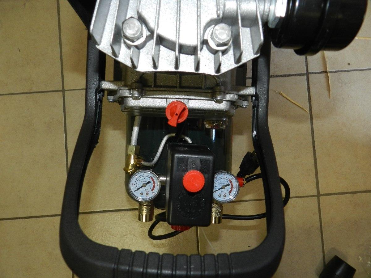 Compresor aire 2 5 hp 25 litros oakland aok ca 2525 - Compresor de aire 25 litros ...