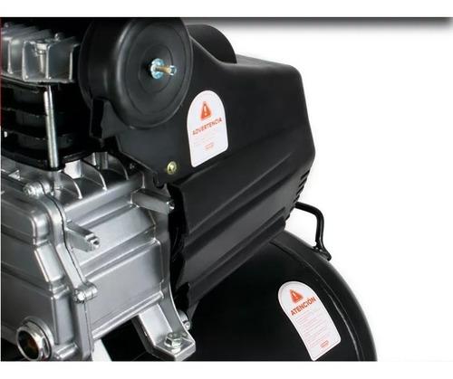 compresor aire 50 litros 2.5 hp 220v + kit 5 piezas p pintar