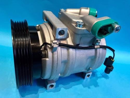 compresor aire acondicionado hyundai i10  hs-09 5 pk impor.