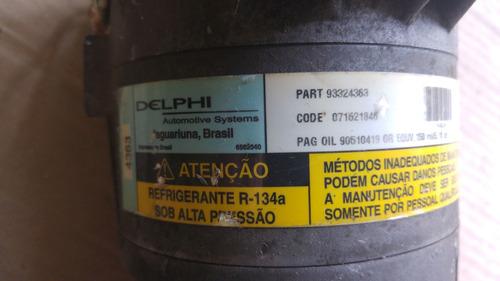 compresor aire acondicionado original vectra zafira 93324363