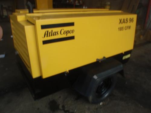 compresor aire atlascopco xas96jd 2005  recien importado