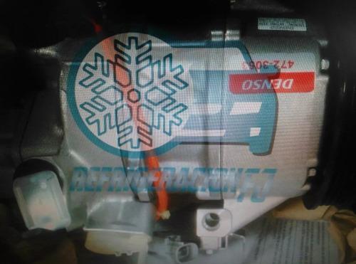 compresor aire denso original toyota yaris 2008 - siniestro
