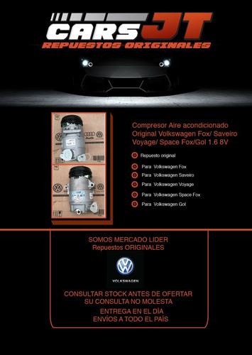 compresor aire/a orig. volkswagen fox/saveiro/voyage/gol1.6