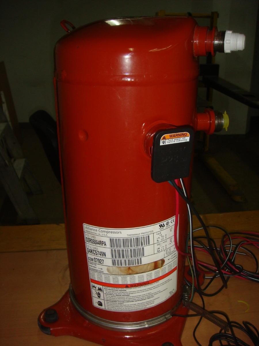 Compresor Alliance Compressors 6 Tr 460v R-22 (trane)