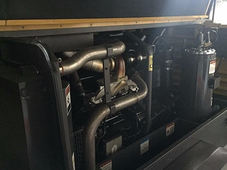 compresor atlas copco 375 pcm  motor john deere 4045