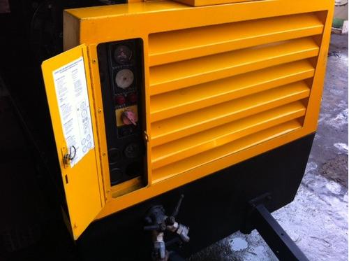 compresor atlascopco 185pcm jhondeerec/ rompedora en paquete