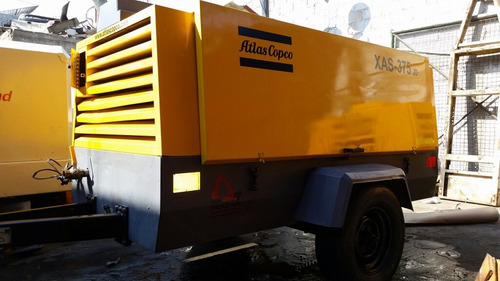 compresor atlascopco 375pcm motor jd 2012 recien importado
