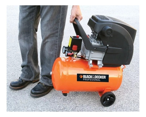 compresor black & decker ct224 , 24lts 2 hp. motor monof