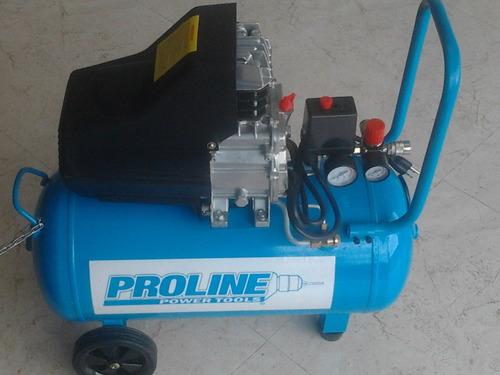 compresor compacto 2 hp con tanke 40  litros proline