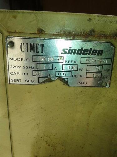 compresor con refigerador philco