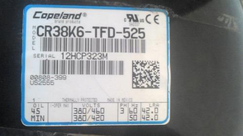 compresor copeland 3 hp 440 voltios
