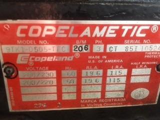 compresor copeland refrigeración 5hp