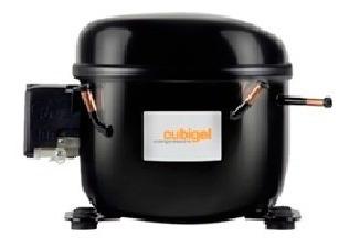 compresor cubigel sellado 3/4+ hp 9.607 btu/h r-22 220v ph1