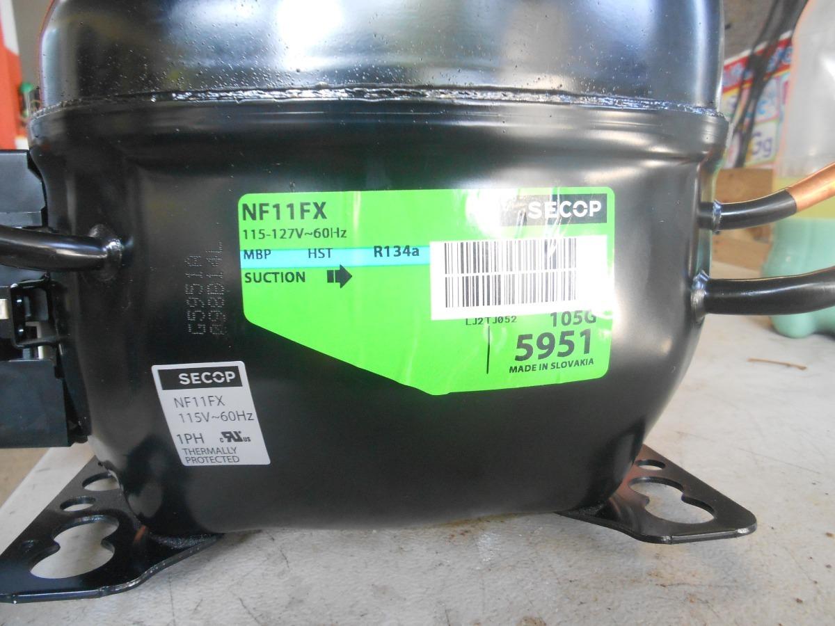 Compresor De 1/3 Hp Nf11fx Gas R134a