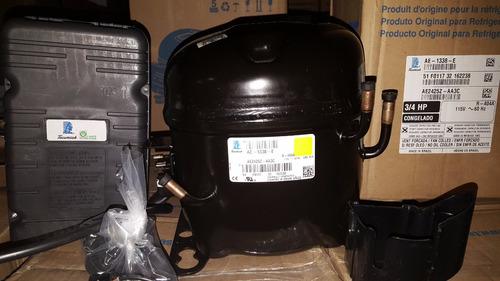 compresor de 3/4 hp tecumseh r404a 110v ae2425z congelación