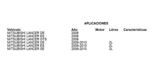 compresor de a/c mitsubishi lancer es 2009-2010 2.0l uac