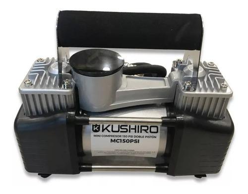 compresor de aire 2 doble piston bi cilindro 12v auto 4x4
