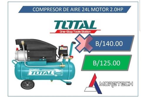 compresor de aire 24 litros motor 2.0 hp