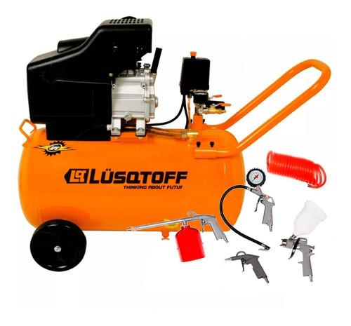 compresor  de aire 2,5 hp 50 litros + kit 5 pz garant. 2 año