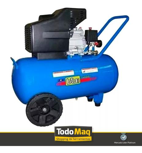 compresor de aire 25 litros 2,5hp + kit 5 pz combo!
