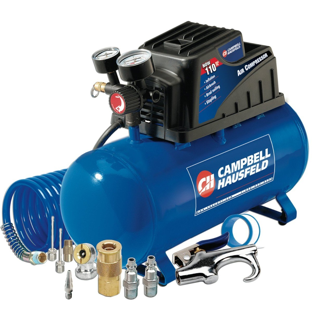 Compresor de aire 3 galones 100 psi campbell hausfeld maa - Manguera para compresor de aire ...