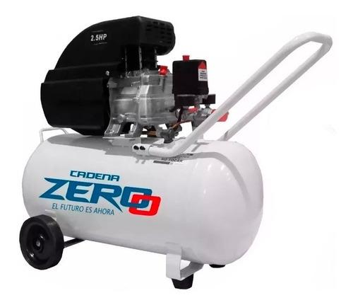 compresor de aire 50 litros 2,5 hp zero + kit acc. lusqtoff