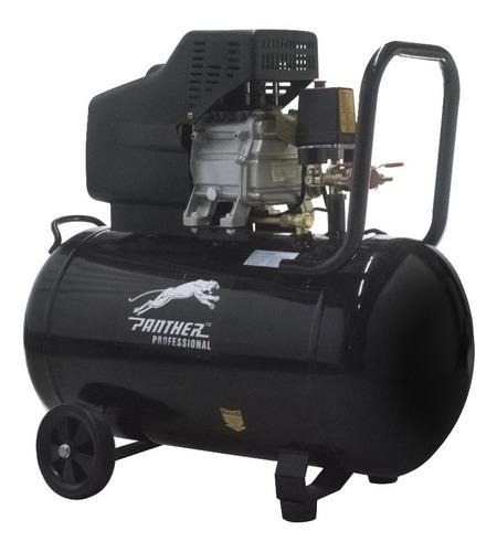 compresor de aire 80l 2,5hp + kit 5 accesorios panther