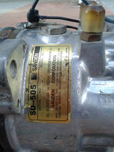 compresor de aire acondicionado universal sanden sd-505