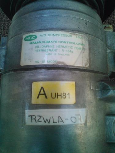 compresor de aire acondiconado f500 mazda bt50