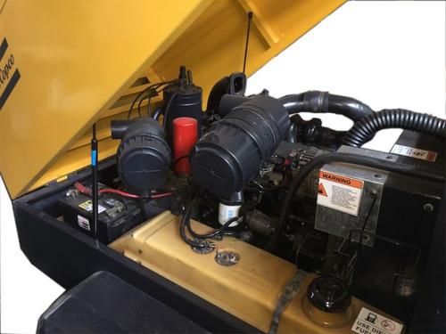 compresor de aire atlas copco 185 cfm, neumático