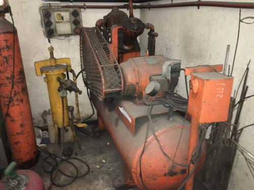 compresor de aire baja baja imaco cadeci 10hp,c/pulmon 600l