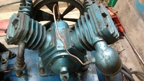compresor de aire bicilindrico a correa