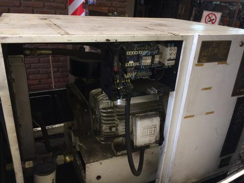 compresor de aire cetec etr125c cabinado inzonorizado
