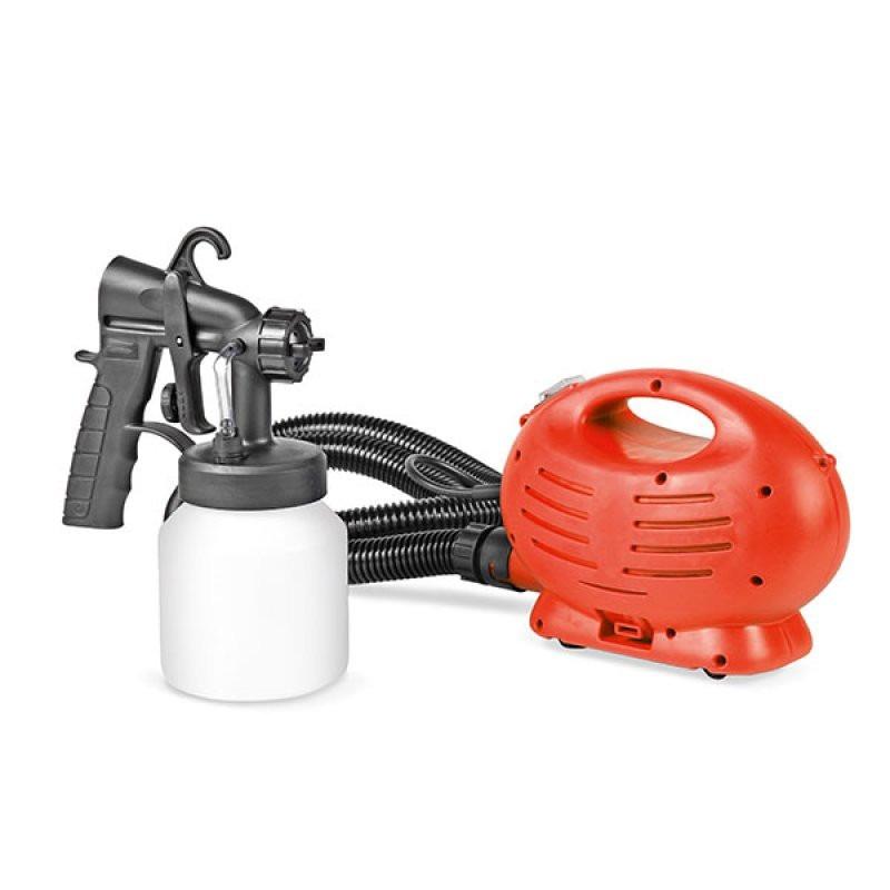 Compresor de aire con pistola para pintura 700 watts - Pistola de pintura sin compresor ...