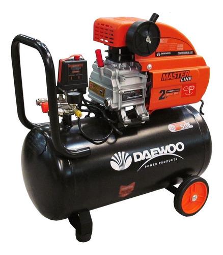 compresor de aire daewoo 50 litros 2hp g p
