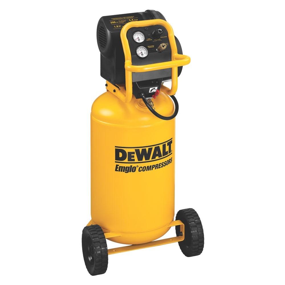 Compresor de aire dewalt d55168 libre aceite 15 gal y 1 8 - Compresor de aire precios ...