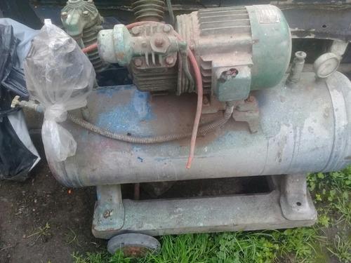 compresor de aire doble cabezal motor monofasico 3 hp funcio