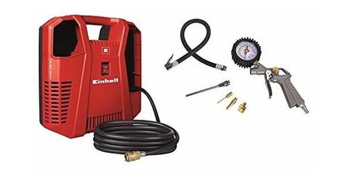 compresor de aire einhell th-ac 190 s/ aceite + kit accesori