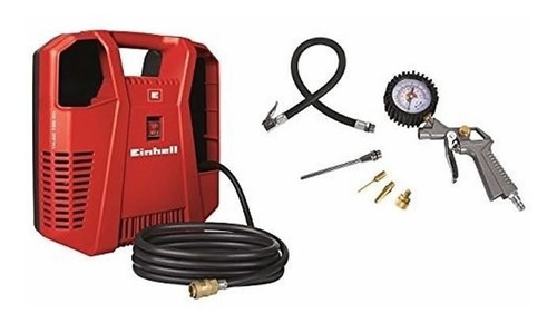 compresor de aire einhell th-ac 190 s/ aceite + kit accesori