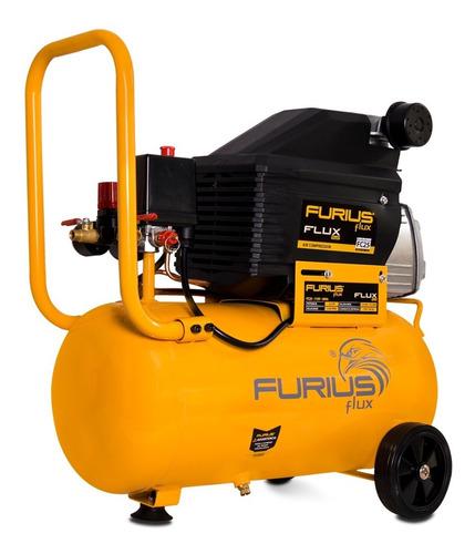 compresor de aire furius de paso directo, 2.0hp - 25lts