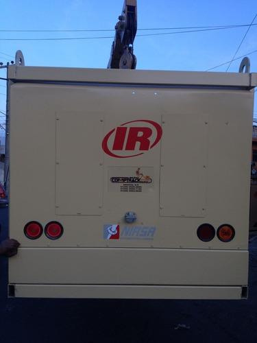compresor de aire ingersoll rand en rack 2007 2008 2009