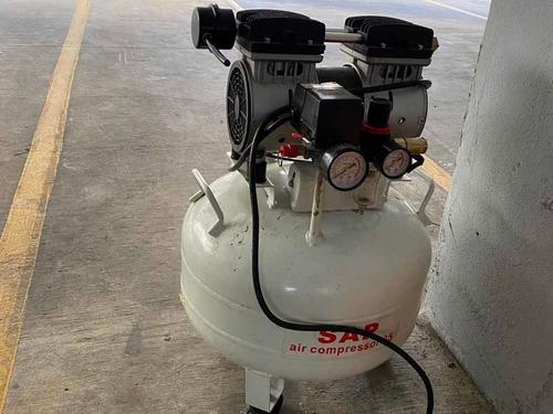 compresor de aire, libre de aceite, silencioso 1hp