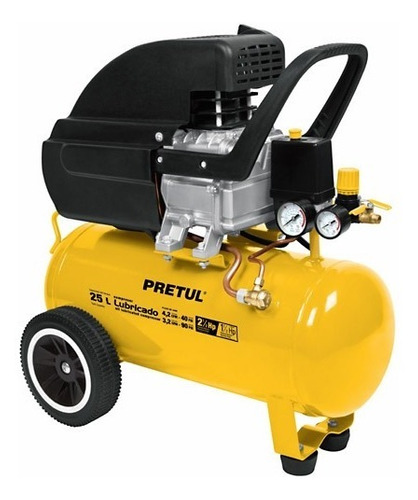 compresor de aire lubricado 115 psi 25l pretul