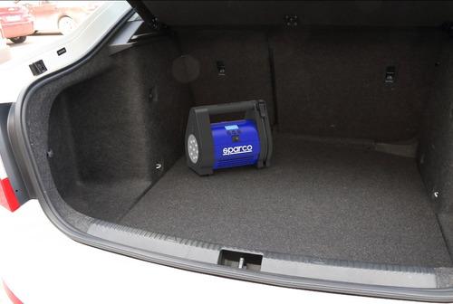 compresor de aire + medidor de presión sparco spt160