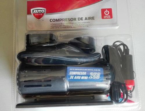 compresor de aire mini portatil para carro.